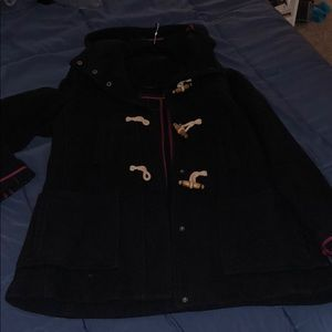 Top Shop Winter Jacket w Removable Hood Sz 10